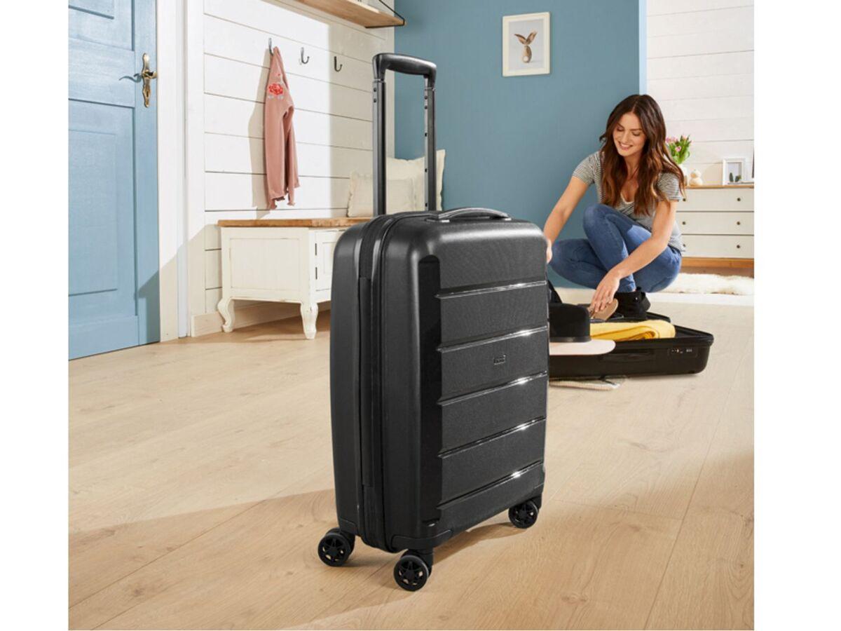 Bild 4 von TOPMOVE® Koffer, 30 L Volumen, maximal 10 kg Füllgewicht, mit 4 Rollen, schwarz