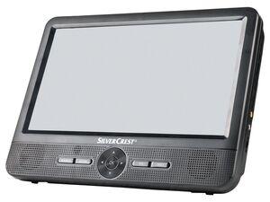 SILVERCREST® Portabler DVD Player »SPDP 18 A1«, mit 2 LCD-Bildschirmen, 9 Zoll
