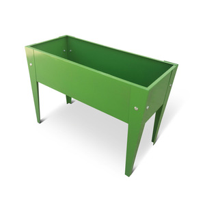 Metall-Hochbeet 60 x 45 x 27 cm grün