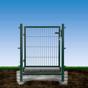 Gartentor 'Easy' 100 x 100 cm grün