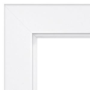 Türzarge Typ 3 Weißlack 73,5 x 10 cm