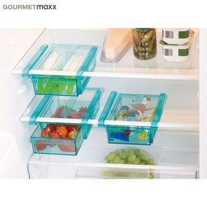 GOURMETmaxx Kühlschrank-Schubfächer 3er-Set