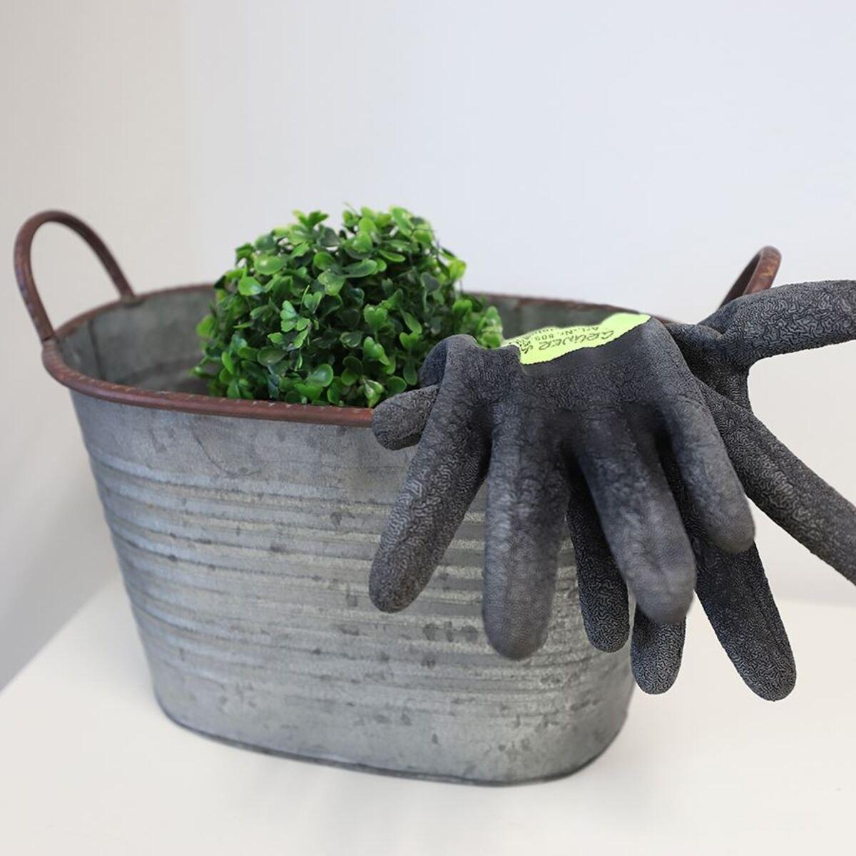 Bild 4 von Zink-Pflanztöpfe mit Griffen 3er-Set
