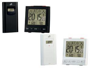 AURIOL®  Temperaturstation, mit Funksensor, 100 m Reichweite, zum Aufstellen und Wandmontage