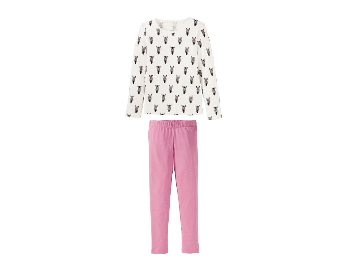 Bild 2 von PEPPERTS®  Pyjama Mädchen, mit Baumwolle, aus Piqué-Qualität