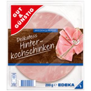 Gut & Günstig Delikatess- Hinterkochschinken