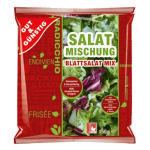 Gut & Günstig Eissalat, Blattsalat- oder Rohkost Mix