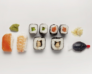 SNACK TIME Sushi Box