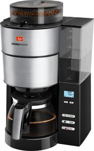 MELITTA AromaFresh 1021-01 Filterkaffeemaschine (Mahlwerk, warmhalten, Timer, Display, einstellbare Uhr)