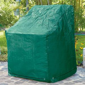 Powertec Garden Schutzhaube für 1 Hochlehner-Sessel oder 6 Stapel-Stühle