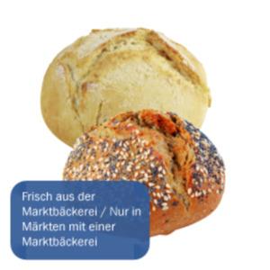 Potato Brötchen hell, dunkel oder Dinkel