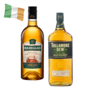 Tullamore Dew Irish Whiskey oder Kilbeggan Irish Whiskey