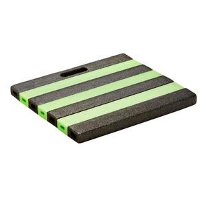 Knieschonkissen (30x35, grau-grün)