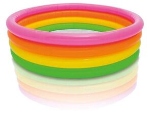 Intex Pool - 4 Ring Sunset-Glow - Maße: ca. 168 x 46 cm