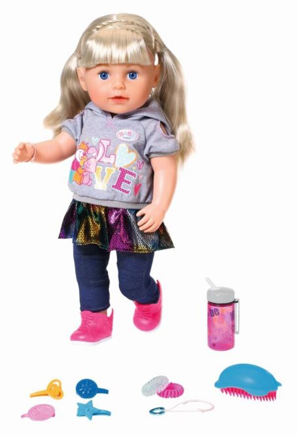 BABY born® - Soft Touch - Sister - blond - 43cm