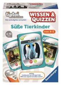Tiptoi Wissen & Quizzen - Süße Tierkinder - Ravensburger