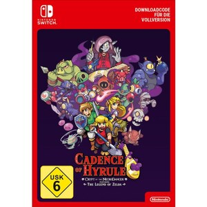 Nintendo Switch: Cadence of Hyrule Crypt of the NecroDancer (Digitaler Download)