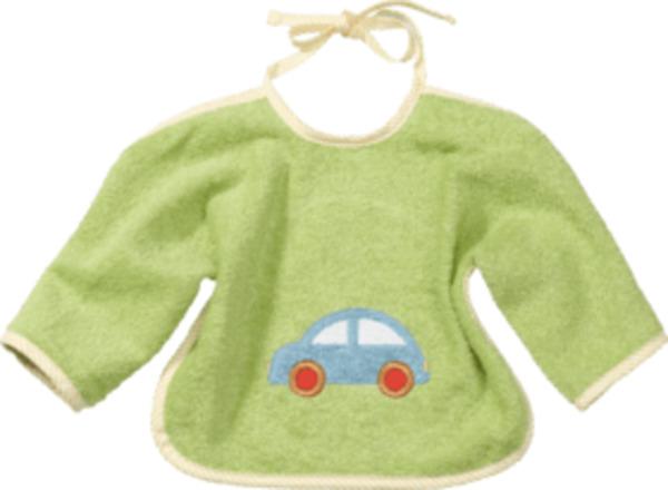 ALANA Baby Lätzchen, in Bio-Baumwolle, grün, Auto