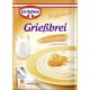 Dr.Oetker Grießbrei Vanille-Geschmack 90 g