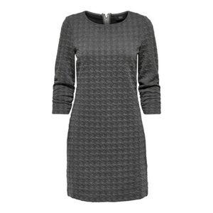 Only Damen Kleid mit Strukturmuster