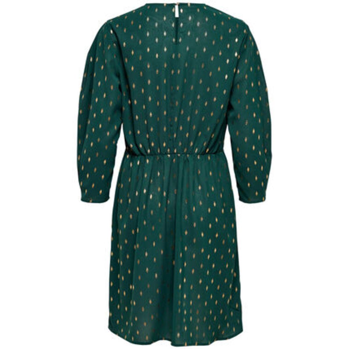 Bild 2 von Only Kleid, Allover-Print, dezente Ballonärmel, tailliert, für Damen
