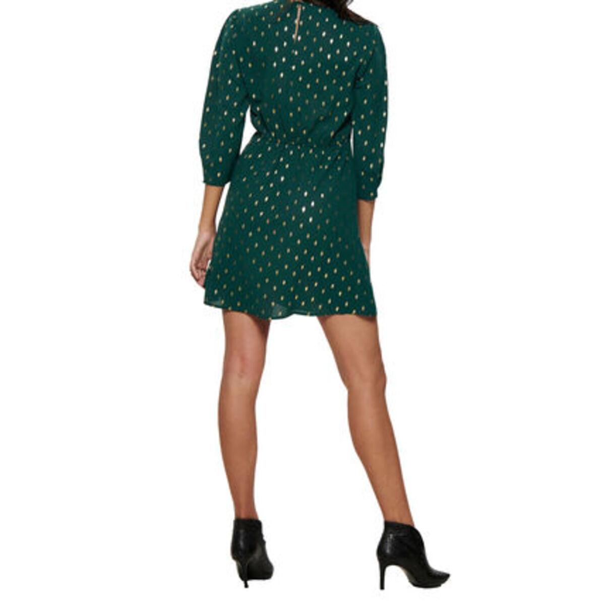 Bild 4 von Only Kleid, Allover-Print, dezente Ballonärmel, tailliert, für Damen