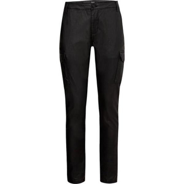 Only Damen Hose in Leder-Optik