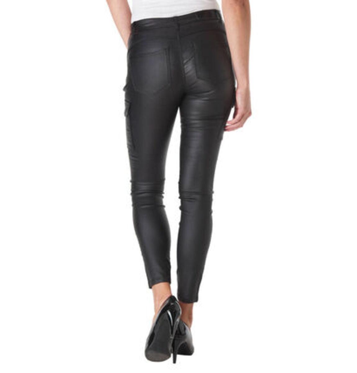 Bild 3 von Only Damen Hose in Leder-Optik