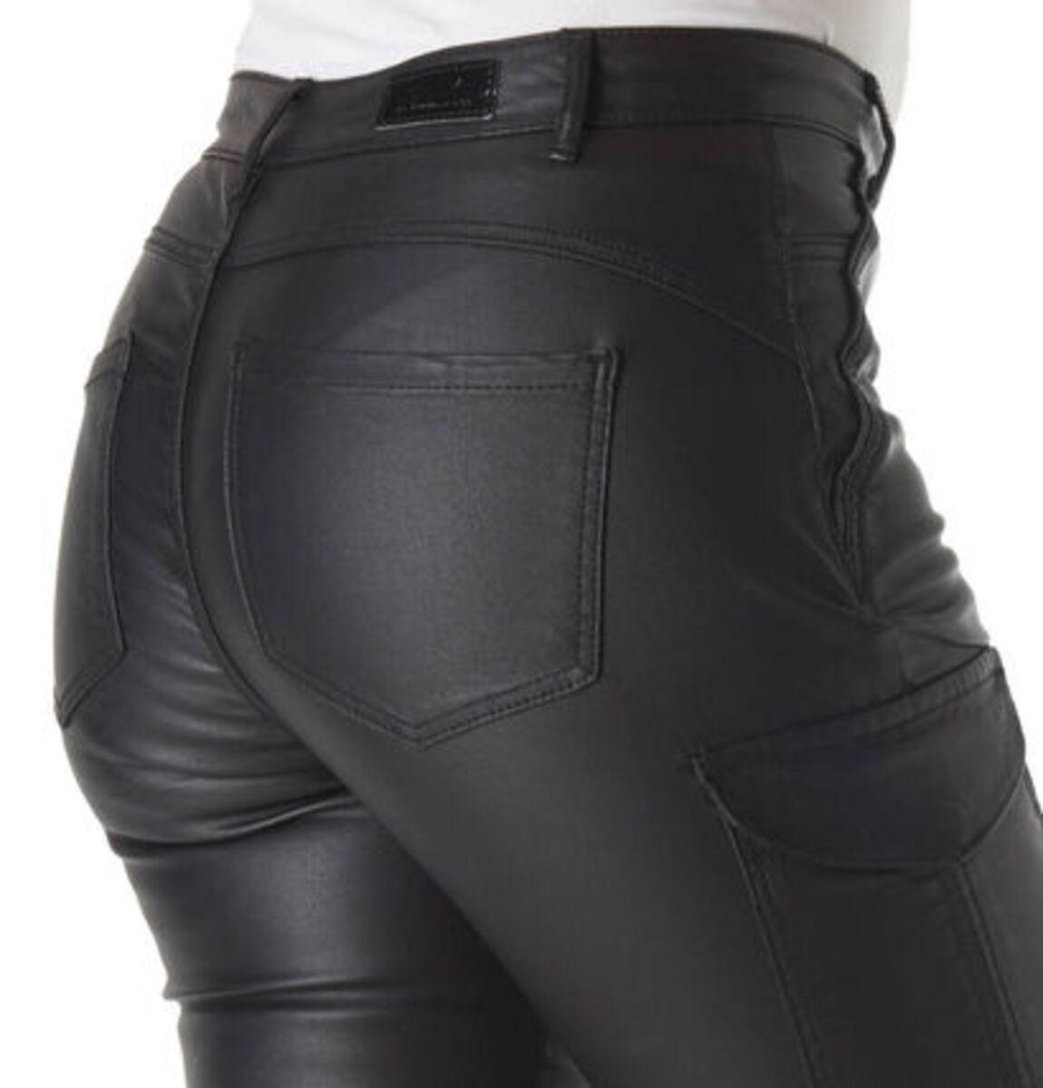 Bild 4 von Only Damen Hose in Leder-Optik