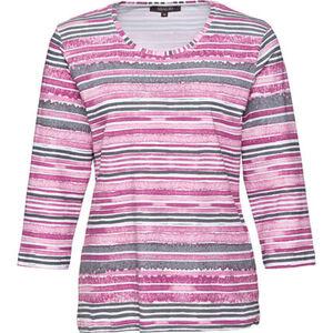 Adagio Damen Shirt mit Allover-Print und Strass
