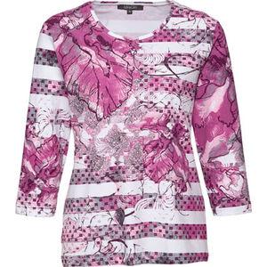 Adagio Damen Shirt mit Strass und Print