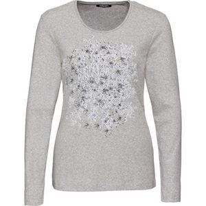 Olsen Damen Langarmshirt mit großem Print