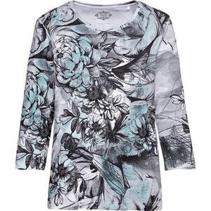 Adagio Damen Langarm-Shirt mit Print