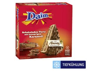 Schokoladen-Mandeltorte