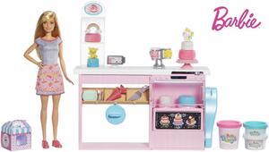 Barbie Tortenbäckerei und Puppe Set