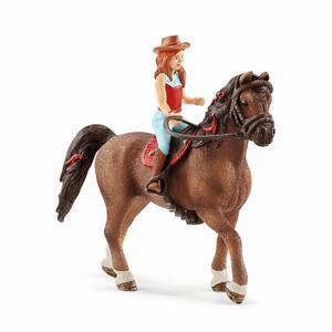 Schleich 42411 Horse Hannah+Cayenne