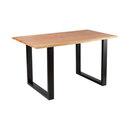 Bild 2 von Holztisch mit echter Baumkante, ca. 140cm1