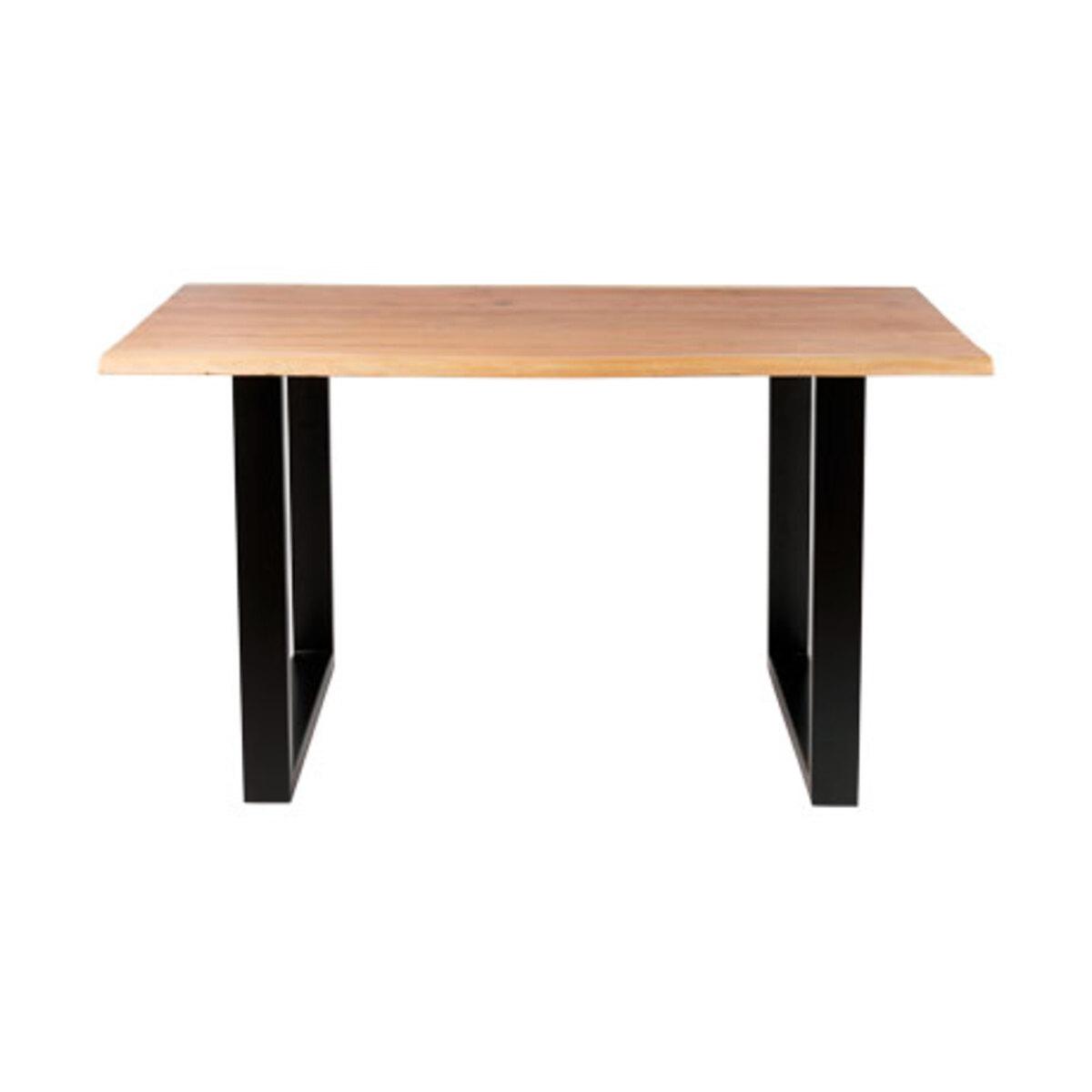 Bild 3 von Holztisch mit echter Baumkante, ca. 140cm1