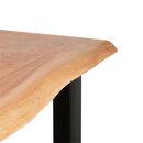 Bild 4 von Holztisch mit echter Baumkante, ca. 140cm1