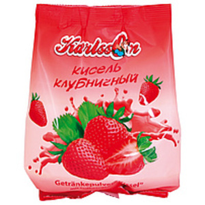 """Getränkepulver """"Kissel"""" mit Erdbeergeschmack"""