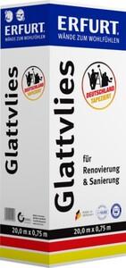 Erfurt Glattvlies Uni weiß, 20 x 0,75 m