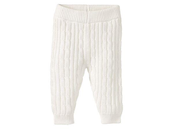 Lupilu Pure Collection Jungen Strickhose 100/% Bio-Baumwolle
