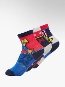 Feuerwehrmann SAM 3er Pack Socken