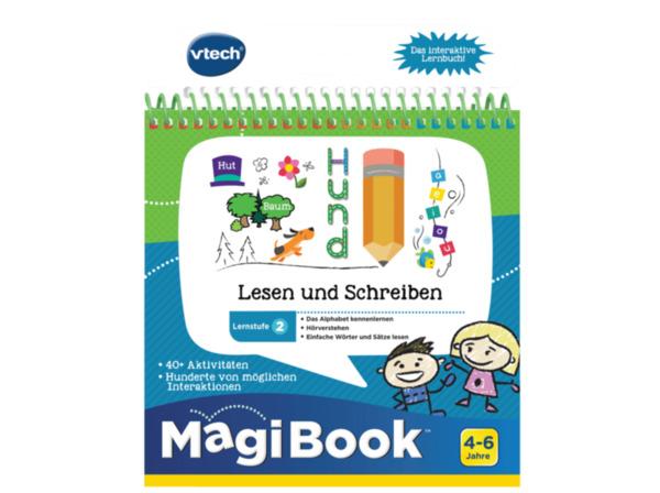 VTECH Lernstufe 2: Lesen und Schreiben Lernbuch, Mehrfarbig