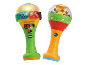 VTECH Rumba-Rasseln bilingual Musikspielzeug, Mehrfarbig