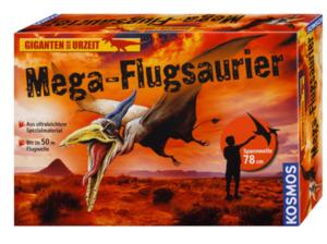 KOSMOS Mega Flugsaurier (mit Ausgrabungs-Ei) Bausatz, Grün