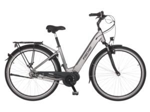 FISCHER - FAHRRAD CITA 4.0I Citybike (26 Zoll, 41 cm, City Rahmen, 418 Wh, Quarzgrau matt)