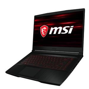 MSI GF63 9SC-662 15'', Full-HD, Core i5-9300H, 8GB RAM, 512GB SSD, GeForce GTX 1650 MaxQ W10