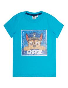 Jungen T-Shirt mit Paw Patrol Wendepailletten