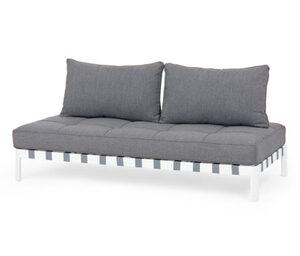 Loungesofa mit flexiblen Rückenkissen